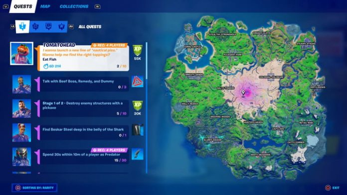 Fortnite season 5 week 8 challenges and how to complete them