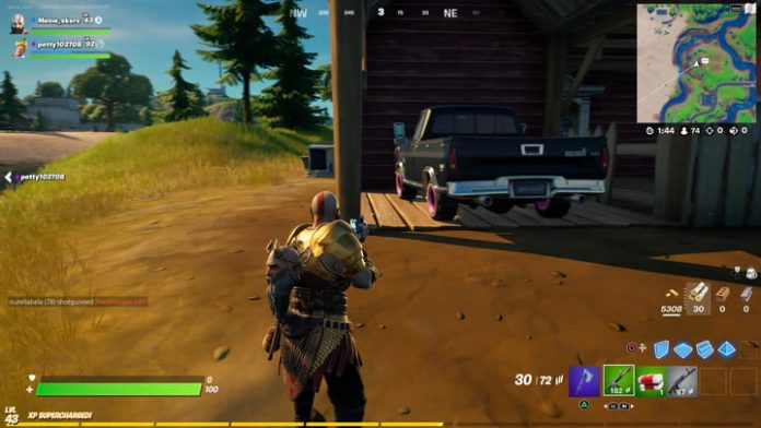 Fortnite challenge guide: Deliver a truck to Sunflower's Farm