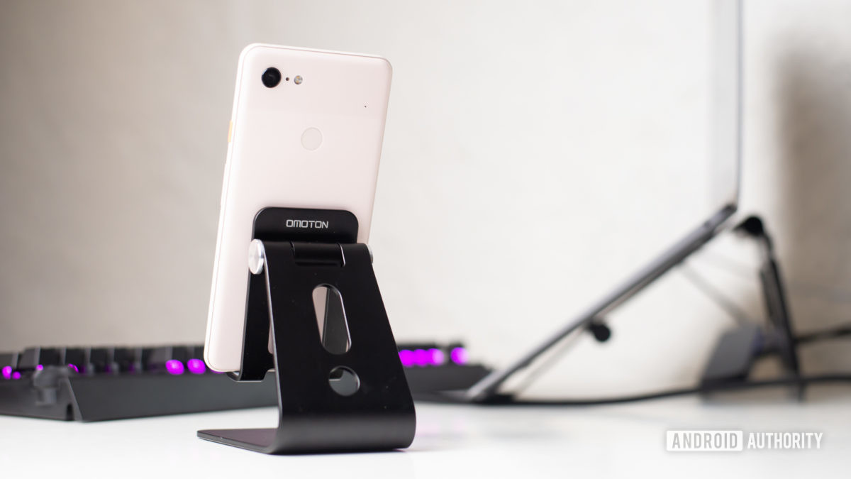 Omoton C3 Cell Phone Stand review 10