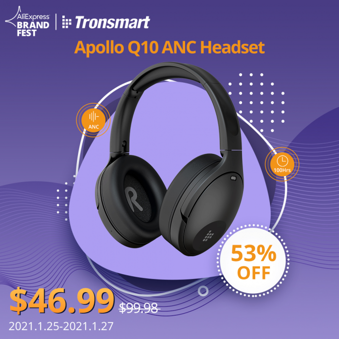 Tronsmart's latest Q10 wireless headphones are currently on a huge discount