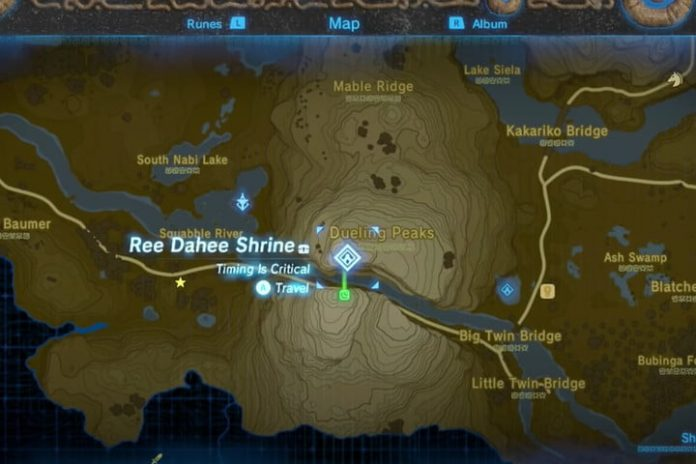 Where to get the climbing gear in Breath of the Wild