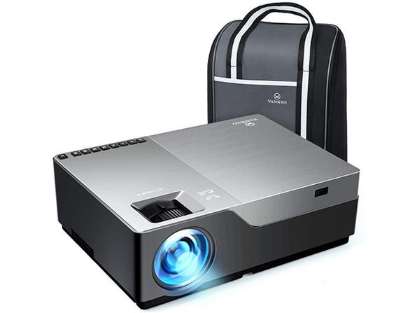 This VANKYO LED Projector delivers a 25-foot big screen experience