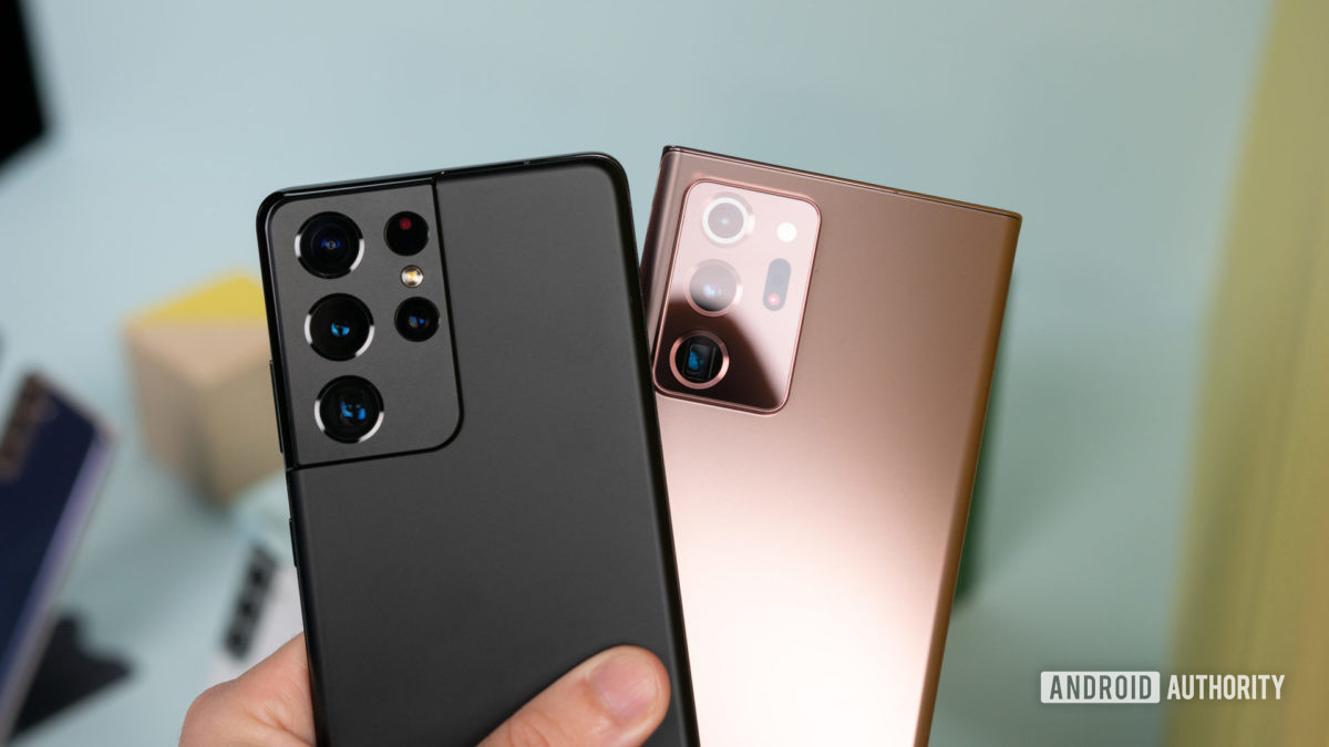Samsung Galaxy S21 Ultra vs Samsung Galaxy Note 20 Ultra 1