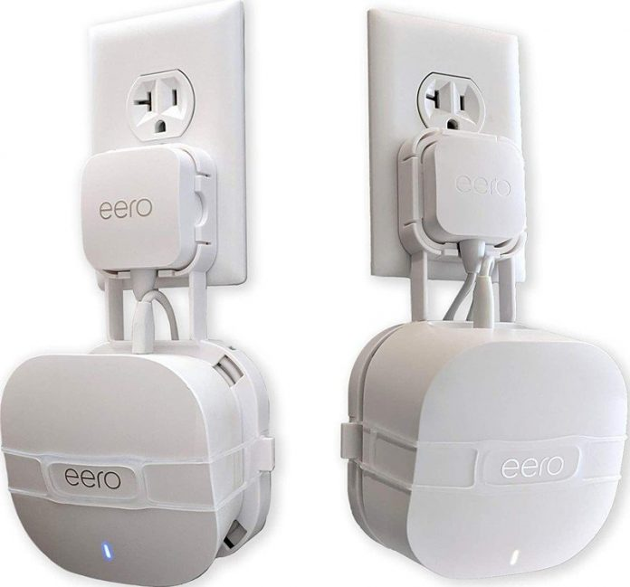 Put your new Eero 6 or Eero Pro 6 anywhere with these wall mounts