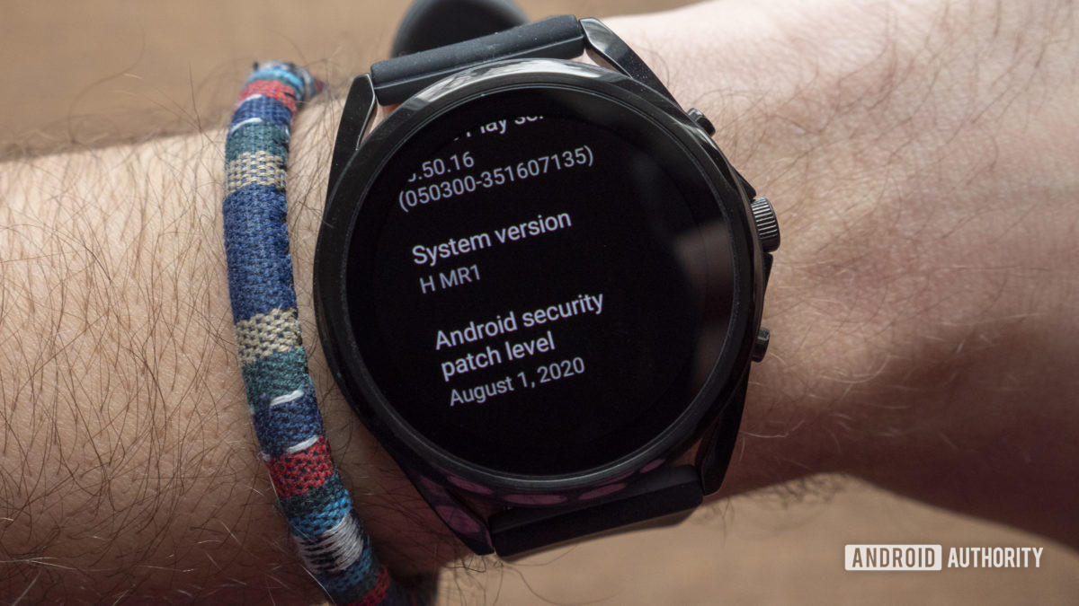 fossil gen 5 lte review wear os system version