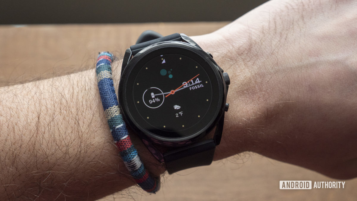 fossil gen 5 lte review on wrist
