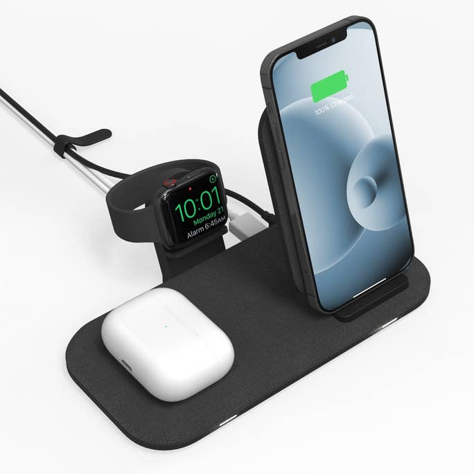 Mophie's latest lets you triple up the wireless charging