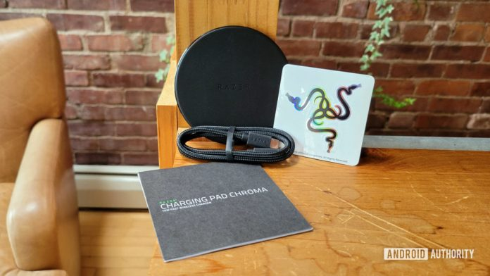 Razer Charging Pad Chroma review: Putting the cool in wireless charging