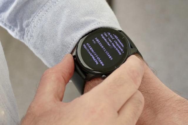 amazfit gtr 2e smartwatch review notifications