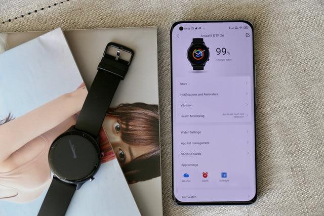 amazfit gtr 2e smartwatch review zepp app watch