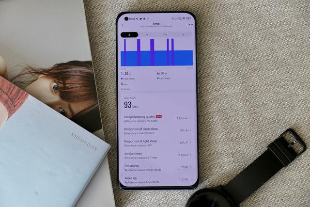 amazfit gtr 2e smartwatch review zepp app sleep