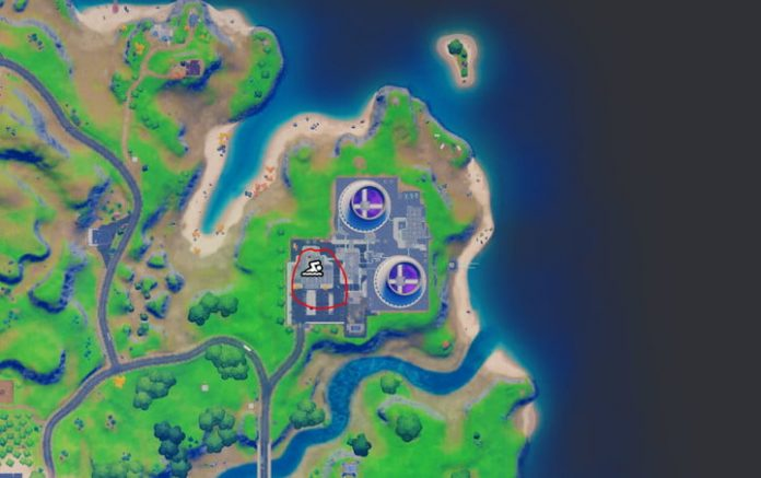 Fortnite challenge guide: Bathe in the Purple Pool at Steamy Stacks