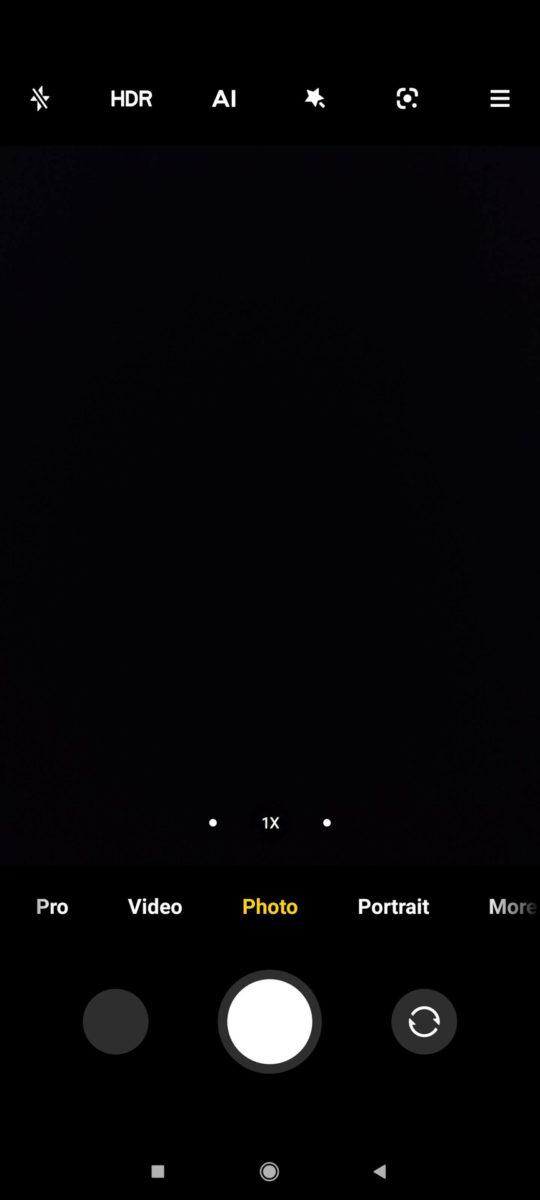 Xiaomi Mi 11 MIUI 12 camera app