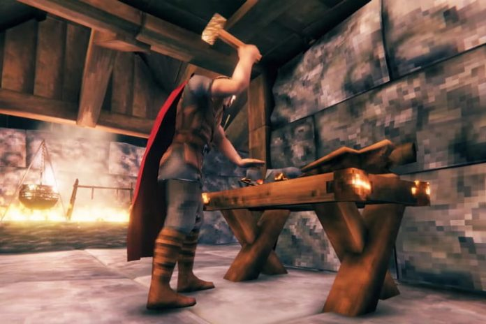 How to find and mine iron in Valheim