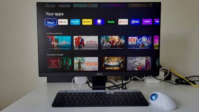 How to use a Chromecast with a monitor.