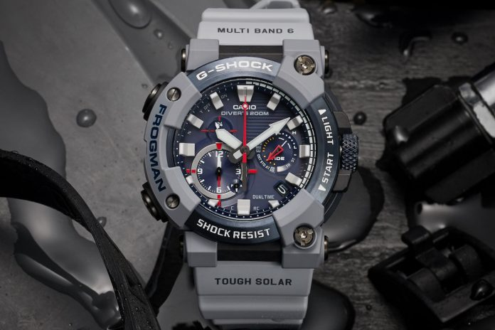 G-Shock makes a splash with new Royal Navy x Frogman special edition dive watch