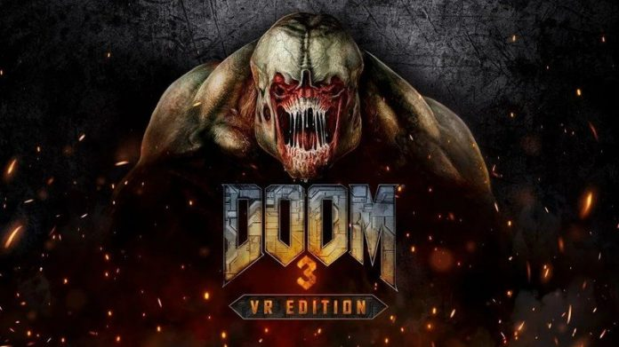 Doom 3: VR Edition rips and tears onto PSVR on March 29