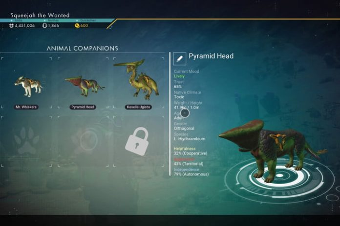 No Man's Sky: How to raise, train, and breed companions