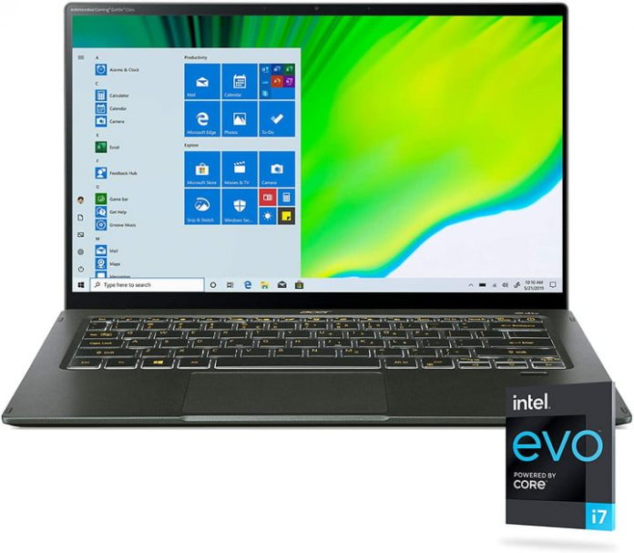 Acer Swift's impressive Intel Evo–certified laptops are just $770 Amazon