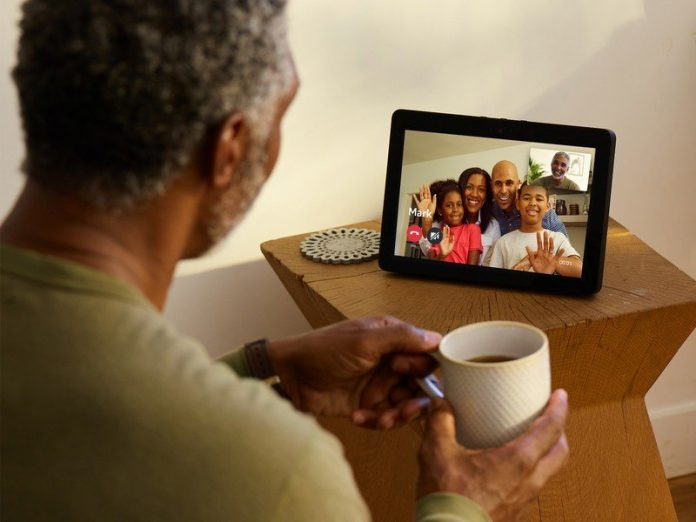 Start a face-to-face chat with friends directly through your Echo Show