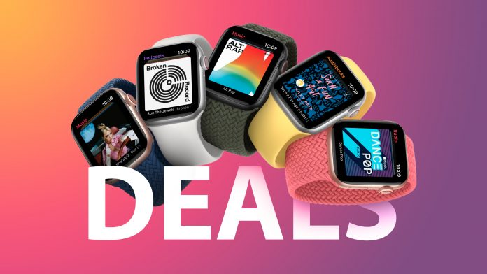 Deals: New Sales Hit Apple Watch Series 6 GPS and Cellular Models (Save Up to $69)