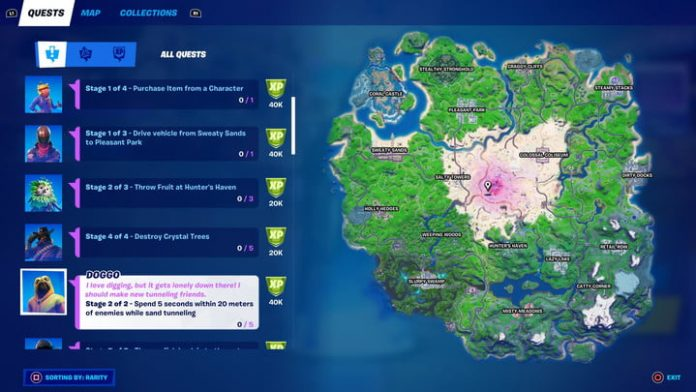 Fortnite season 5 week 15 challenges and how to complete them