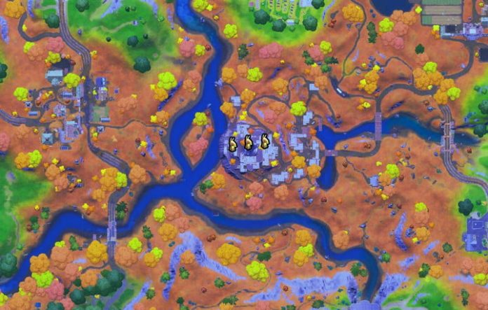 Fortnite challenge guide: Find golden artifacts near The Spire