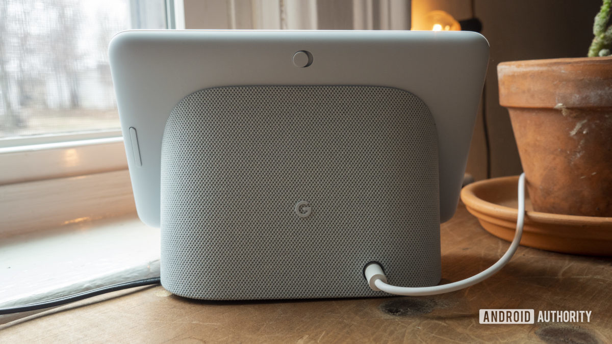 google nest hub second generation review hardware back design speaker