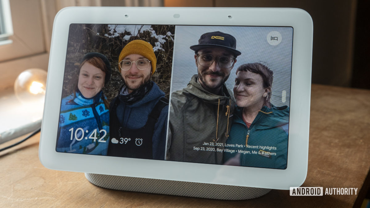 google nest hub second generation review photo frame 1