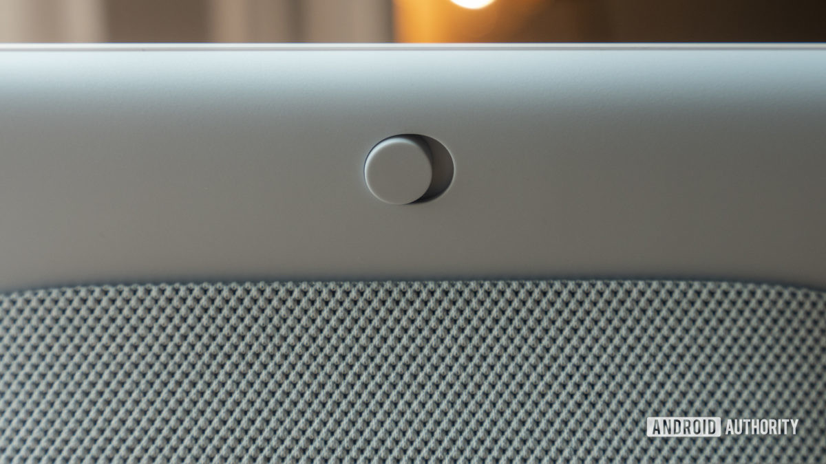 google nest hub second generation review hardware mute switch