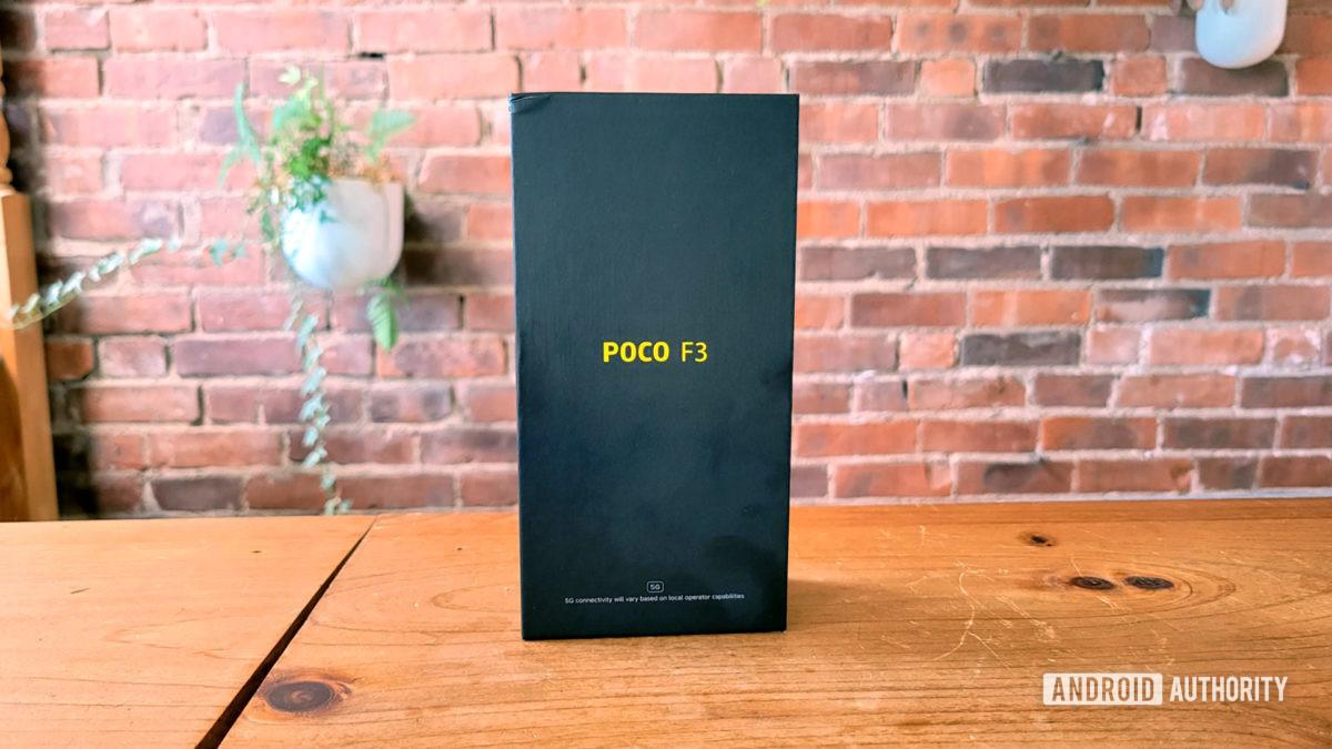 Poco F3 Review Retail Box