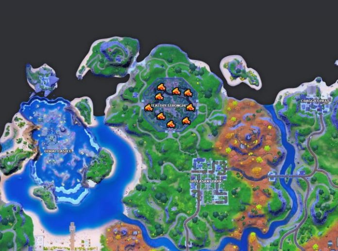 Fortnite challenge guide: Catch fish at Camp Cod, Lake Canoe, or Stealthy Stronghold