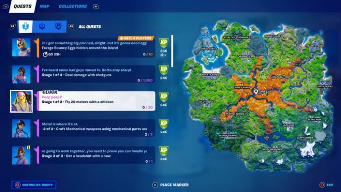 Fortnite season 6, week 3 challenges and how to complete them