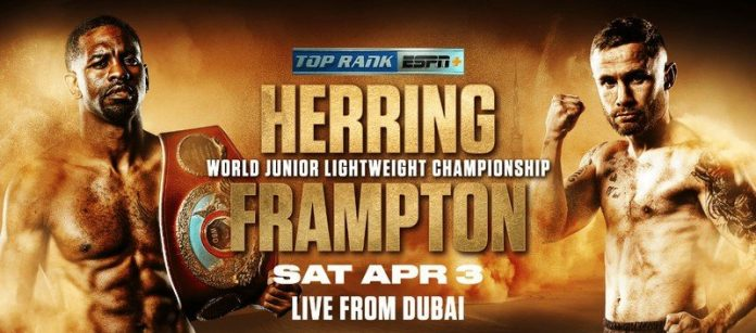 How to watch Herring vs Frampton: Live stream super-featherweight boxing on