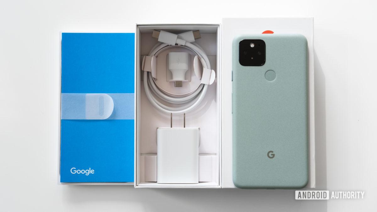Google Pixel 5 box 3