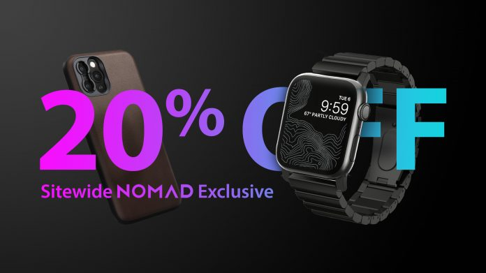 Exclusive Deals: Get 20% Off Sitewide at Nomad This Week