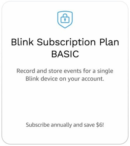 Which subscription plan should I get for my Blink security camera?
