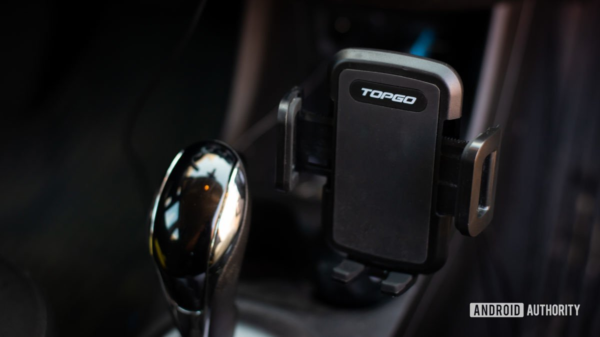 TopGo Cup Holder Phone Mount review 1
