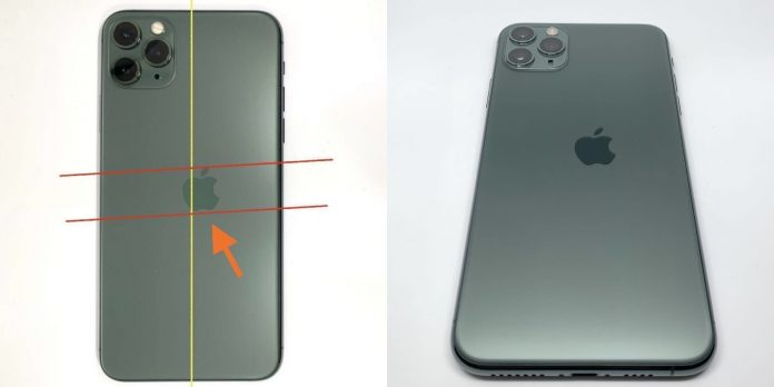 Images Depict 'Extremely Rare' iPhone 11 Pro With Misaligned Apple Logo