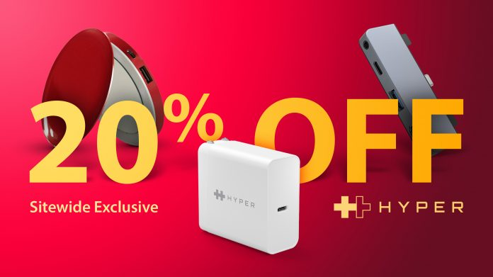 Exclusive Deals: Hyper Offering 20% Off Sitewide, Including Battery Packs, USB-C Hubs, and More