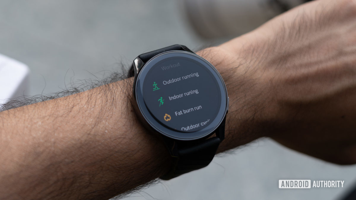 OnePlus Watch exercise modes