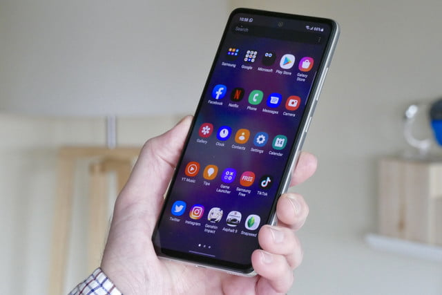 samsung galaxy a52 5g review apps