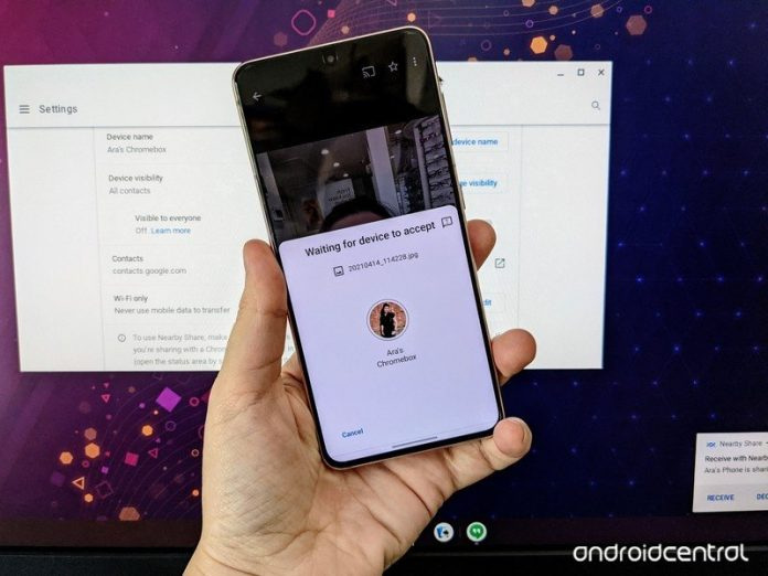 How to send files from your phone to your Chromebook using Nearby Share