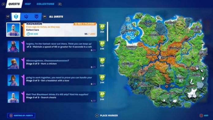 Fortnite season 6, week 5 challenges and how to complete them