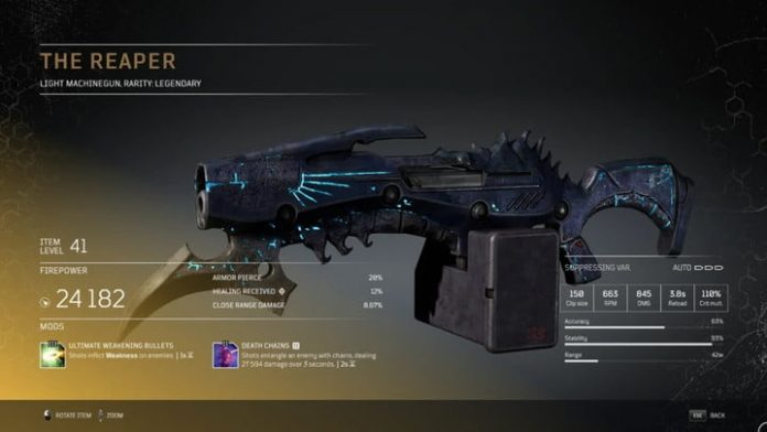 Outriders: All Legendary weapons and how to get them