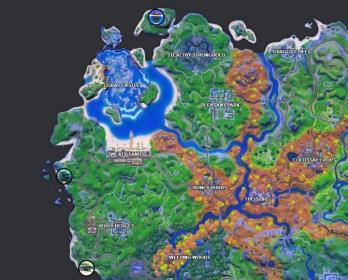 Fortnite challenge: Visit Fancy View, Rainbow Rentals, and Lockie's Lighthouse