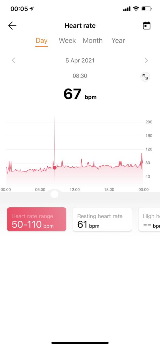 Huawei Health App Honor Band 6 3