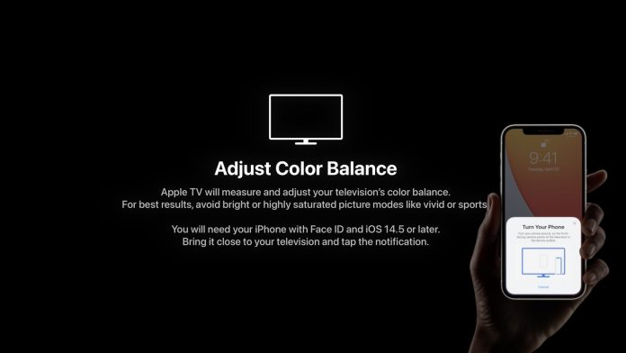 How to Use Apple TV's iPhone-Based Color Balance Feature