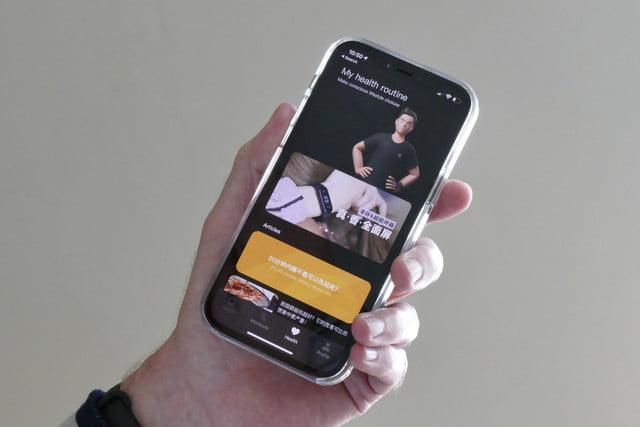 xiaomi mi band 6 review wear app menu