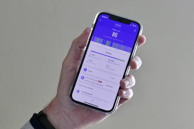 xiaomi mi band 6 review sleep app